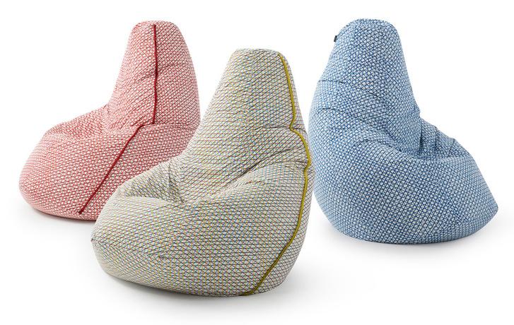 Кресло-мешок Sacco стало 100% экологичным (фото 0)