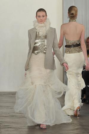 Показы мод Ralph Lauren Осень-зима 2009-2010 | Подиум на ELLE - Подиум - фото 3209