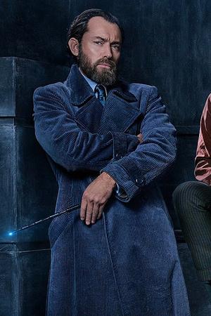 Джуд Лоу в образе Дамблдора в тизере «Фантастических тварей» (фото 1)