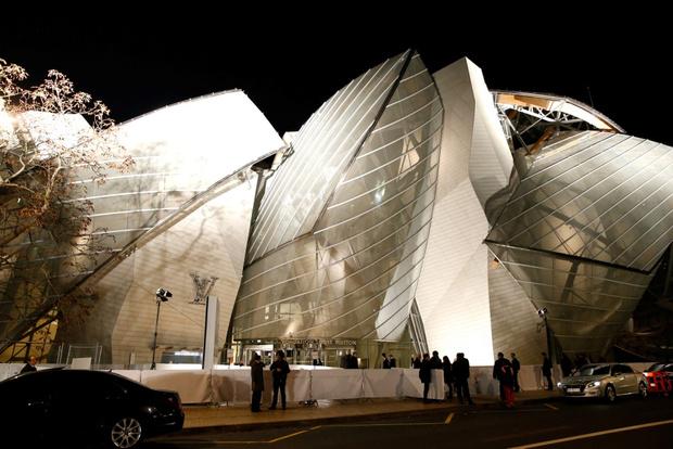 Гости открытия Fondation Louis Vuitton в Париже
