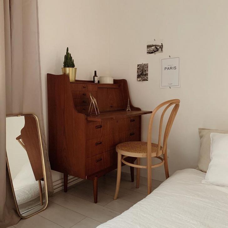 Уютная квартира с винтажной мебелью в Познани (фото 17)