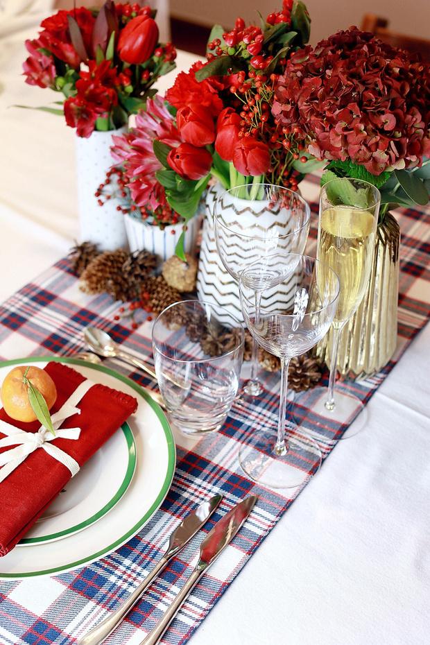 4 варианта новогодней сервировки фото [17]