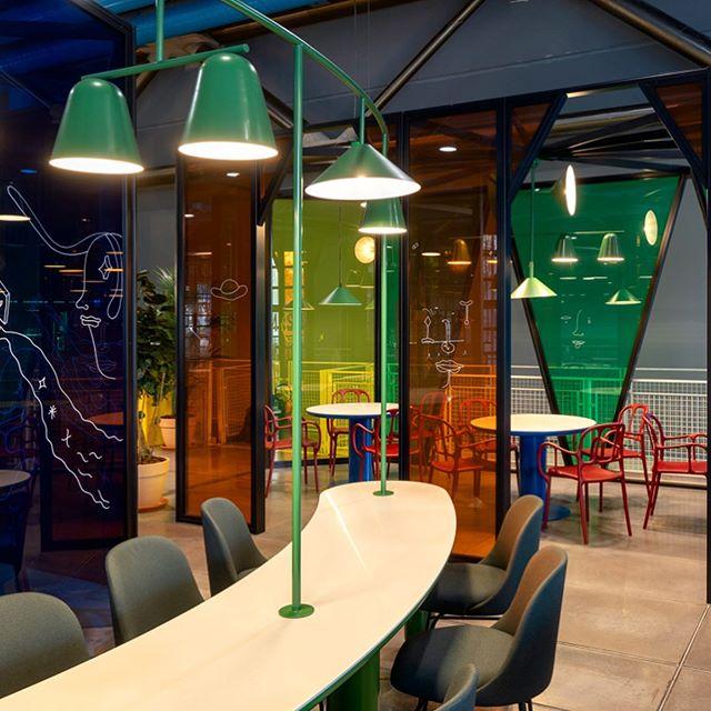 Новое кафе в Центре Помпиду по дизайну Хайме Айона (фото 3)