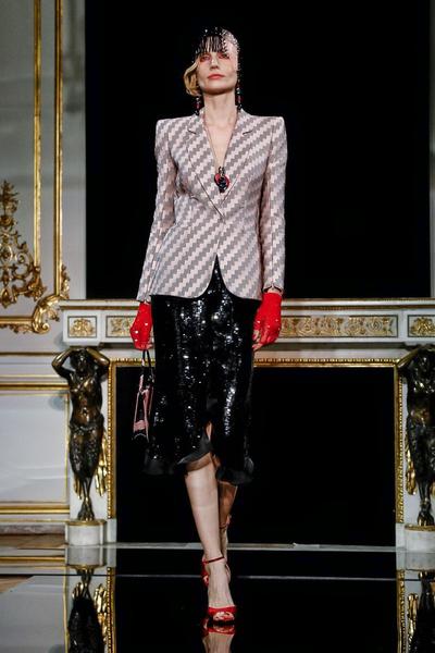 Буйство красок и идеальные жакеты в Giorgio Armani Privé Couture SS 2019 (галерея 1, фото 1)
