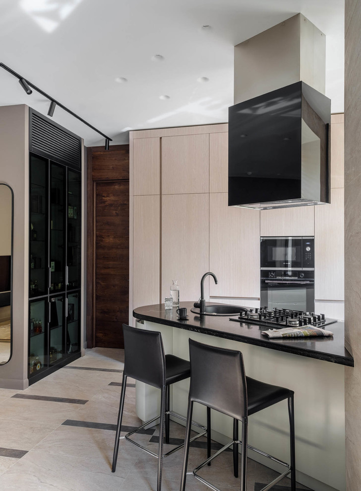 Московская квартира 73 м² в нейтральных оттенках (фото 9)