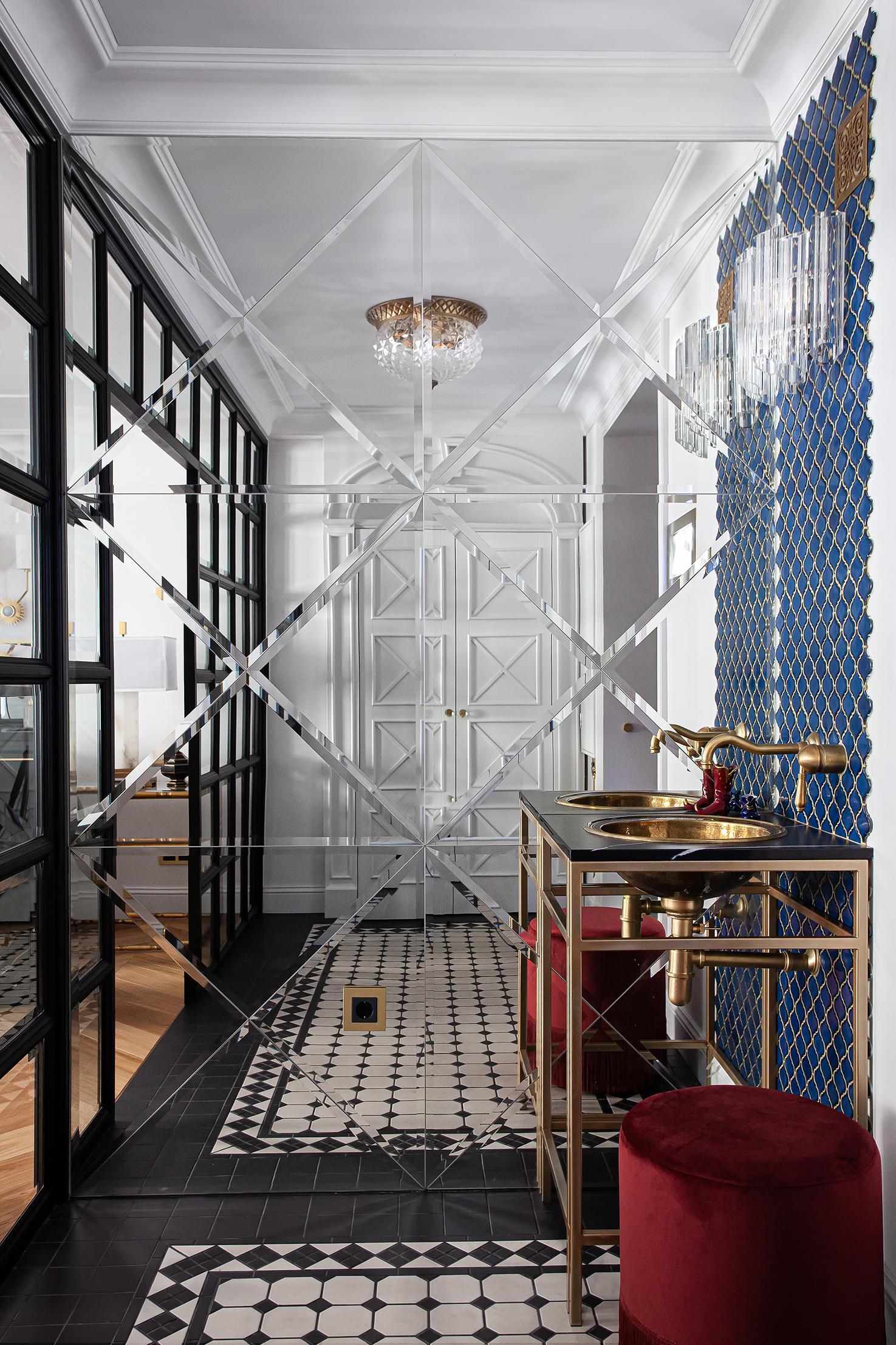 Пуфы в прихожей: 20 идей для входной зоны (галерея 1, фото 3)