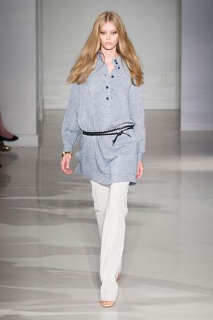 Показы мод Jill Stuart Весна-лето 2015 | Подиум на ELLE - Подиум - фото 4063