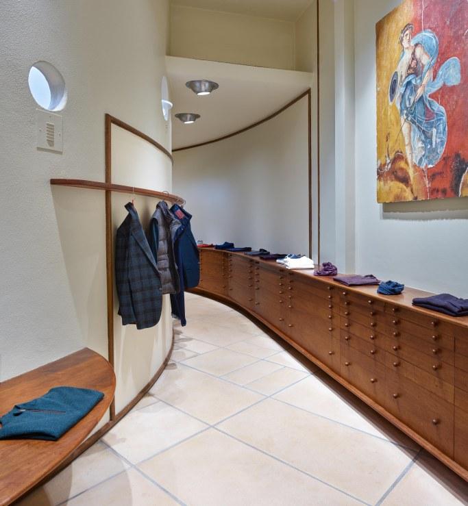 Мода и архитектура: бутик Isaia в здании Фрэнка Ллойда Райта (галерея 4, фото 5)
