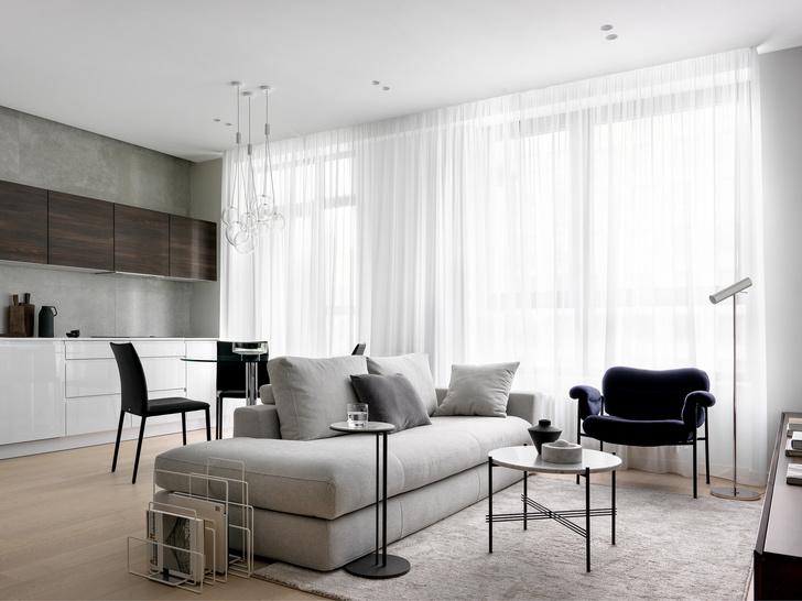 Квартира 55 м²: уютный минимализм (фото 7)