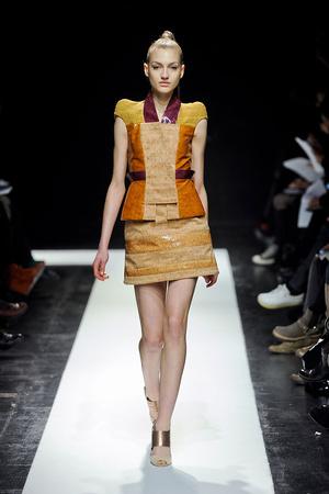 Показ Maxime Simoens коллекции сезона Весна-лето 2012 года Haute couture - www.elle.ru - Подиум - фото 333631