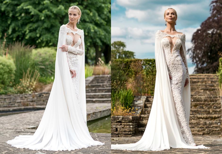 Осенние свадебные платья