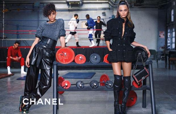 Кара Делевинь рекламирует Chanel