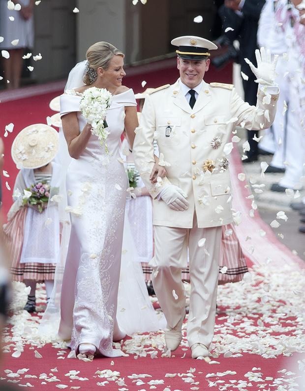 Свадьба князя Альбера II и княгини Шарлен в 2011 году