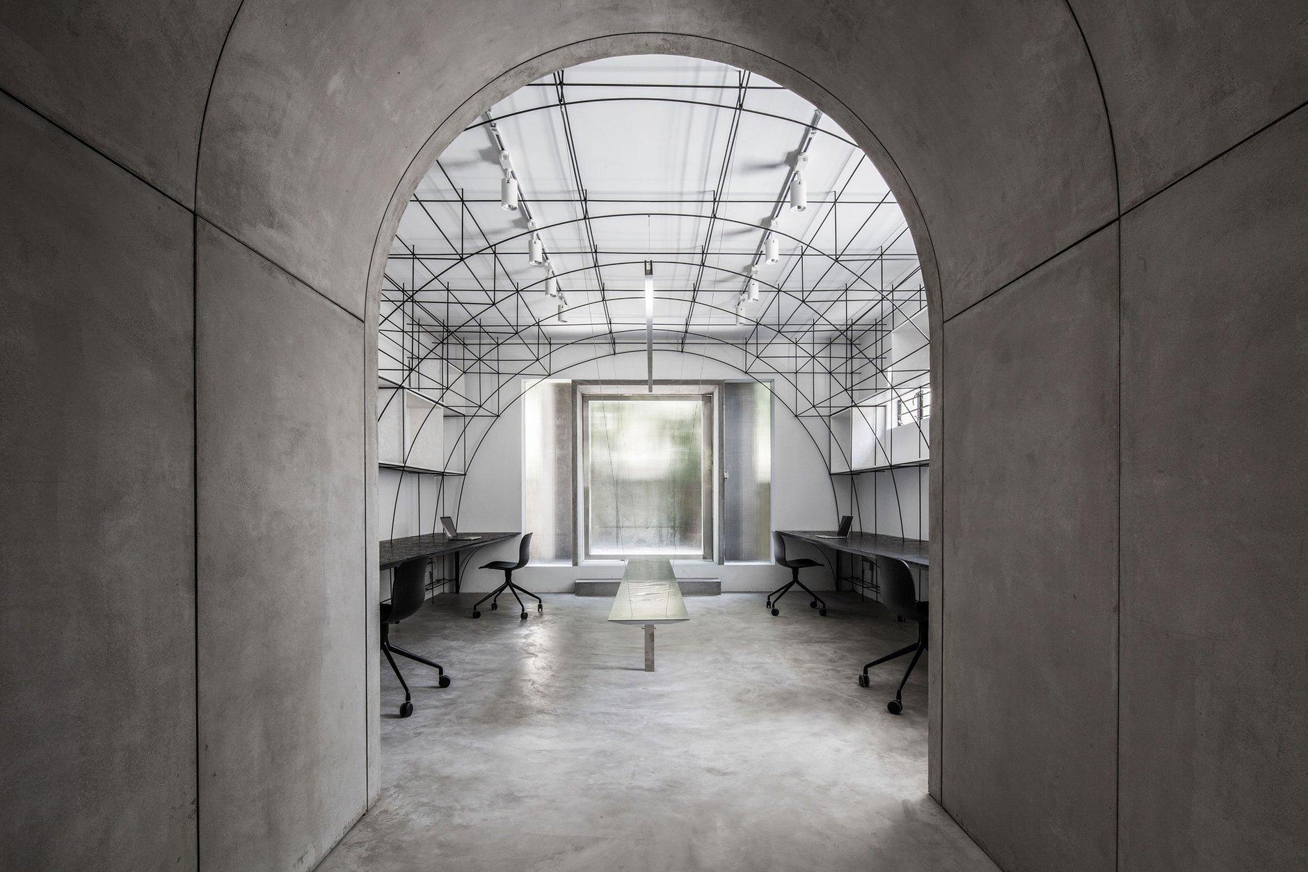 Монохромный офис в Шанхае (галерея 6, фото 3)