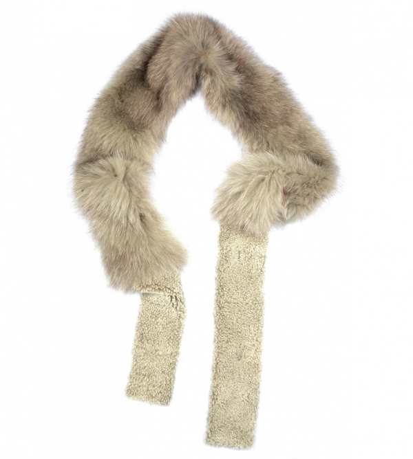 Накладной воротник-шарф Plume