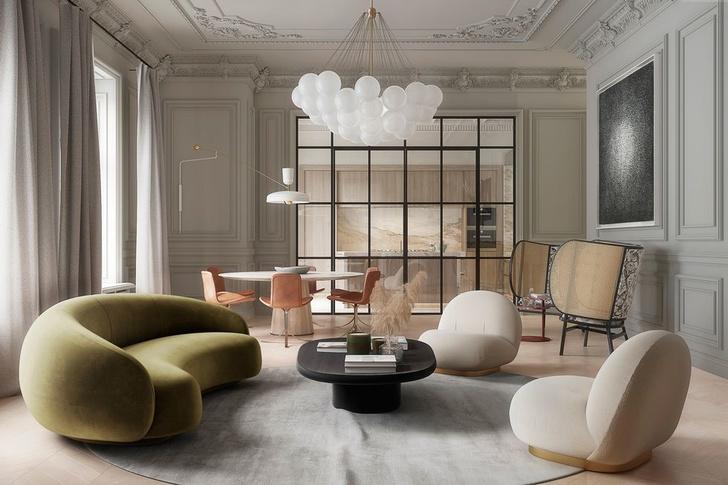Современная классика: квартира 182 м² в Милане (фото 0)