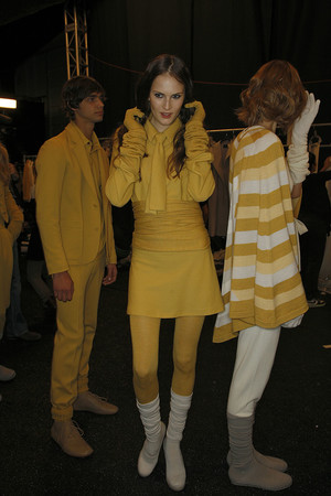 Показ Lacoste коллекции сезона Осень-зима 2009-2010 года Prêt-à-porter - www.elle.ru - Подиум - фото 90527