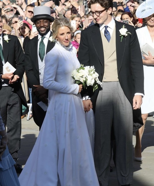 Элли Голдинг призналась, какая британская принцесса послужила вдохновением для ее свадебного платья (фото 1)