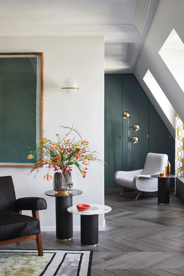 Парижская квартира дизайнера Кристофа Пойе (фото 4)