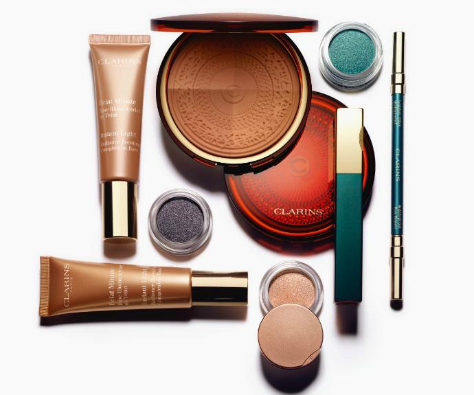 Летняя коллекция макияжа Aquatic Treasures от Clarins