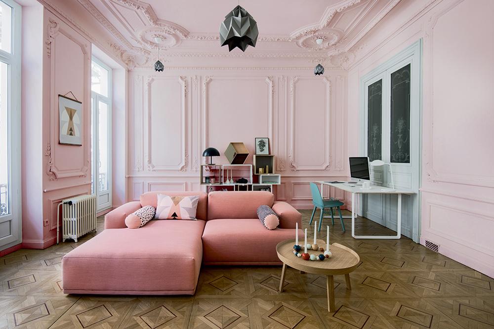 21 интерьер с розовой мебелью (галерея 0, фото 7)