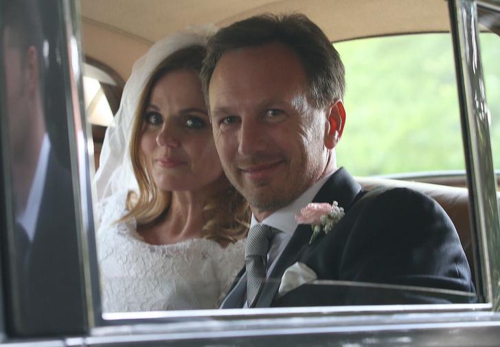 Джери Холлиуэлл с мужем
