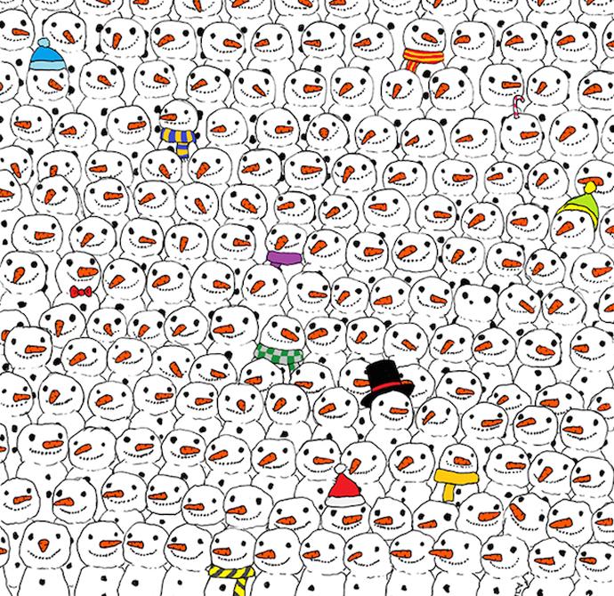 Найди панду: рисунок венгерского художника взорвал интернет