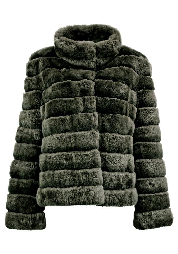меховая куртка finn flare