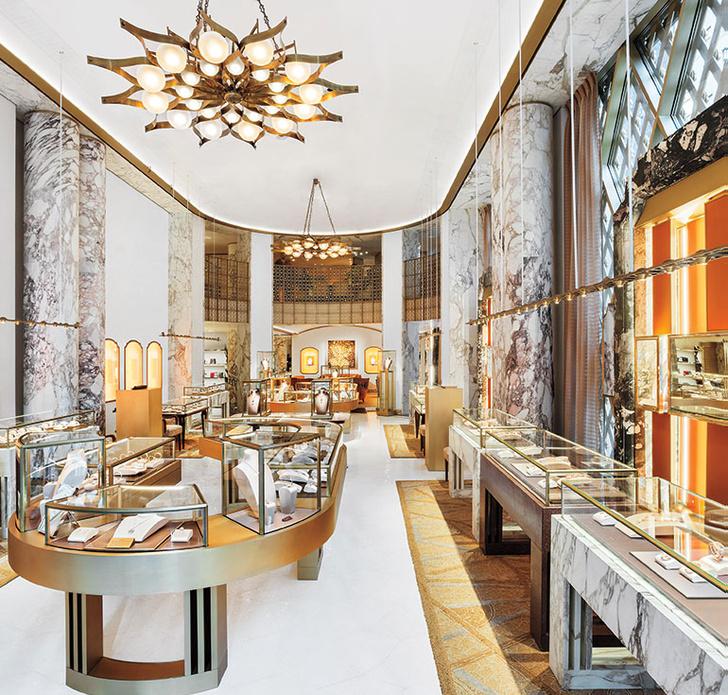Питер Марино оформил бутик Bvlgari в Нью-Йорке (фото 4)