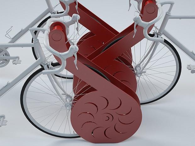 Поехали! Дизайнерские велосипеды и аксессуары для велопрогулок. (фото 2)