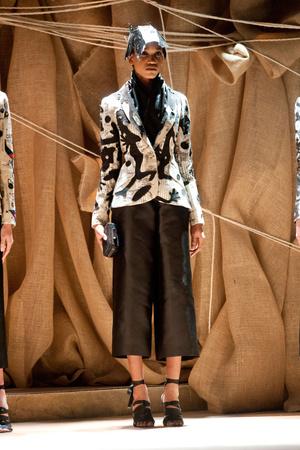 Показ Franck Sorbier коллекции сезона Весна-лето 2013 года Haute couture - www.elle.ru - Подиум - фото 480417