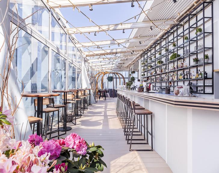 Самая высокая в Европе веранда ресторана «На свежем воздухе»