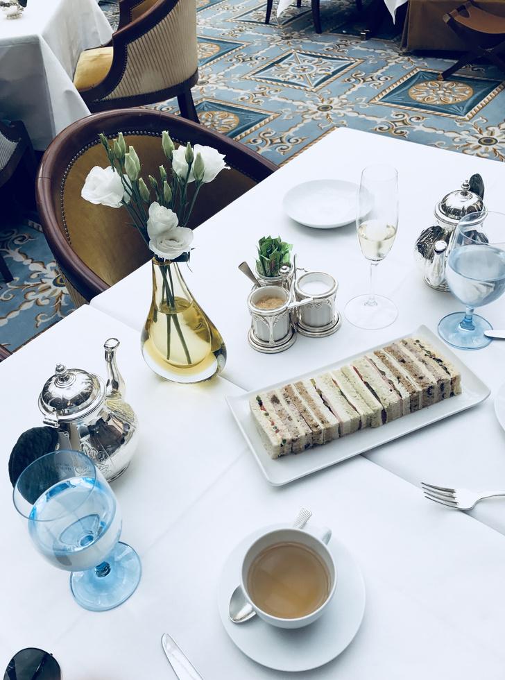 послеобеденный чай Lanesborough чайная церемония