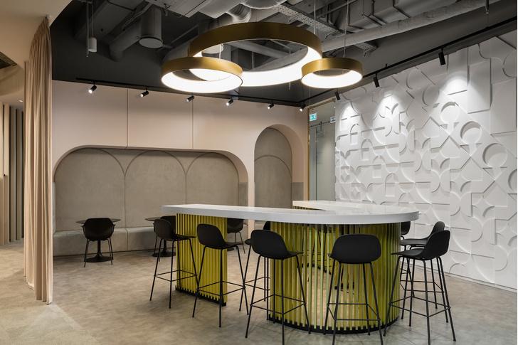 Офис L'Oréal по проекту IND Architects в Москве (фото 9)