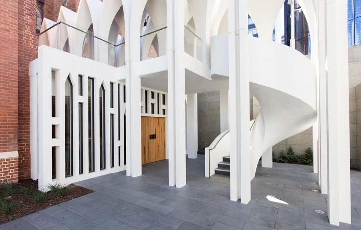 Новая школа церковного хора от Palassis Architects (фото 5)