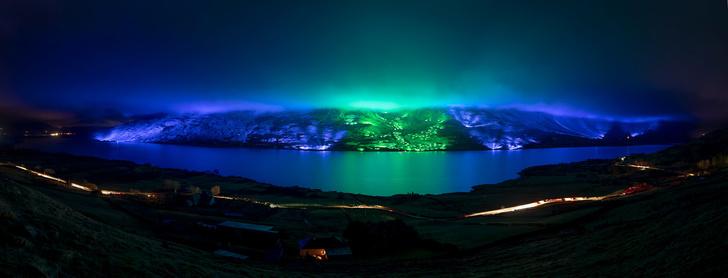 Северное сияние: световое шоу художника Кари Колы (фото 0)