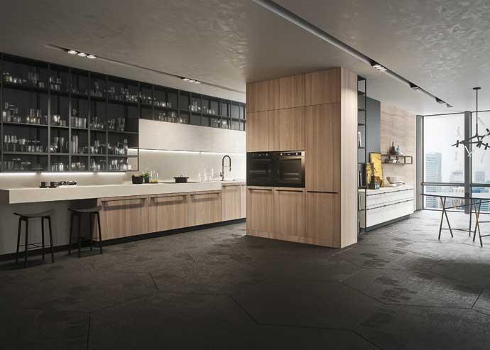 Кухня Opera, Snaidero, дизайн Микеле Маркона