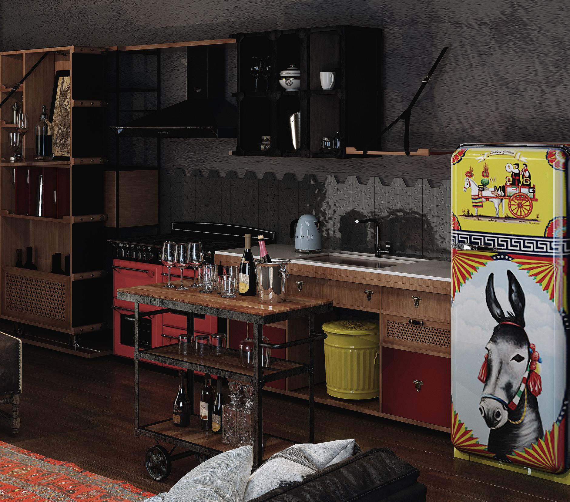 «Кухня в стиле Smeg»: итоги конкурса (галерея 8, фото 1)