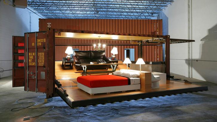 Maersk вместо кирпича: дома из грузовых контейнеров (фото 7)