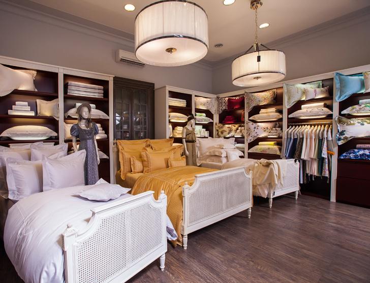 Коллекцию постельного белья Yves Delorme Couture представили в Москве