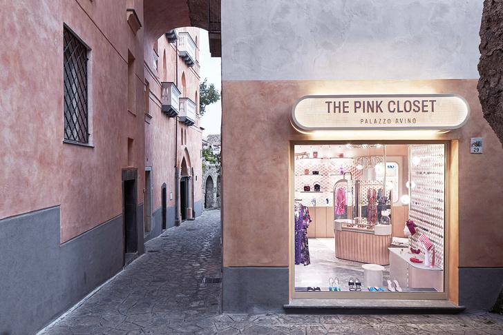 Нежно-розовый бутик по дизайну Кристины Челестино (фото 3)