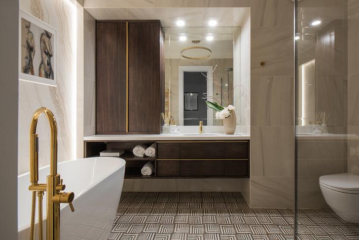 Современная квартира 96 м² в классическом стиле (фото 22)