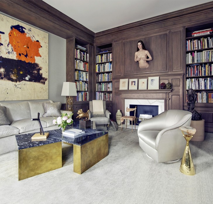 Клуб знатоков: нью-йоркская квартира с шедеврами искусства (фото 11)