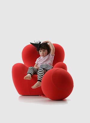B&B Italia, Гаэтано Пеше, Up Series, UpJ, икона дизайна, для детей