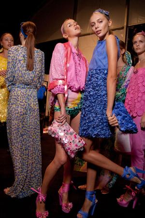Показ Blugirl коллекции сезона Весна-лето 2011 года prêt-à-porter - www.elle.ru - Подиум - фото 185985