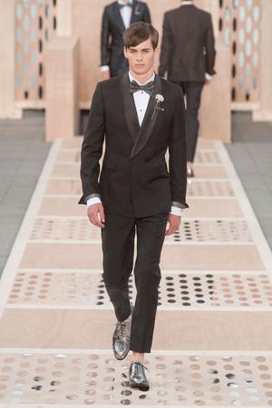Показ Louis Vuitton коллекции сезона Весна-лето 2014 года Men prêt-à-porter - www.elle.ru - Подиум - фото 556990