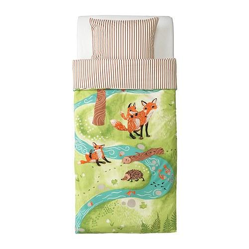Детское постельное белье в икеа