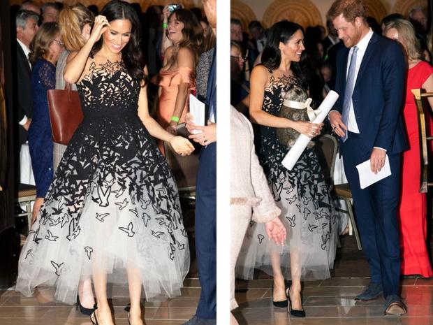 Прощай, королева: 30 лучших выходов Меган Маркл в качестве члена монаршей семьи (фото 44)