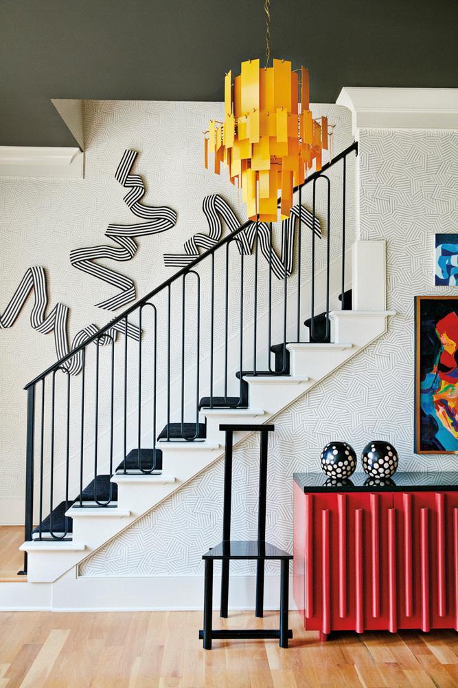 Яркий дом художницы в Джорджии (фото 6)