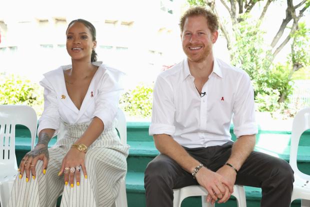 Рианна и принц Гарри, декабрь 2016
